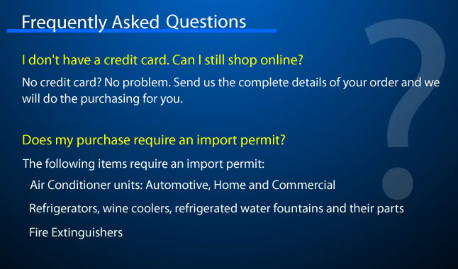 Frequently Asked Question - Credit Card
