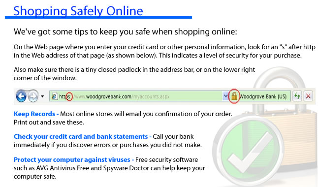 Shop Online Safely